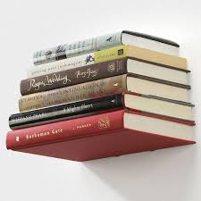 umbra conceal bookshelf floating book shelf small