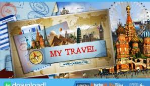 videohive my travel map free after effects template free after