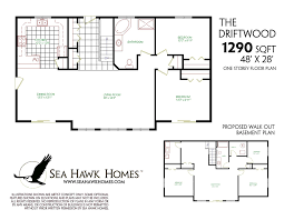 walk out basements house plans with finished walkout basements luxury decor ranch
