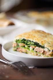 comment cuisiner chou vert lasagne de chou vert aux 2 saumons chefnini