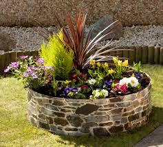 raised garden pots home outdoor decoration