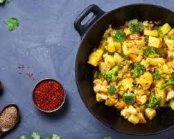 cuisiner brocolis a la poele recette de poêlée épicée croq kilos aux pommes de terre chou fleur