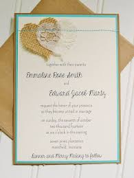 Burlap And Lace Wedding Invitations 22 Cute Burlap Wedding Invitation Ideas Weddingomania