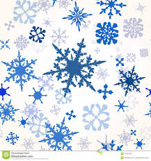 wallpaper pattern with hand drawn shiny snowflakes ideal for chr