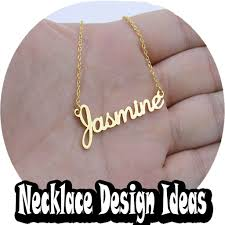 necklace name ideas android apps on play
