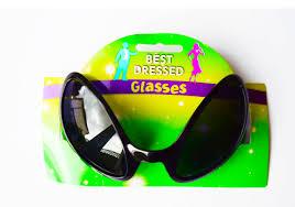 halloween eye glasses alien eye sunglasses glasses black sc fi space robot halloween