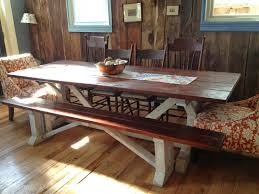 Barnwood Dining Room Tables Barnwood And Bangles Our Viking Table