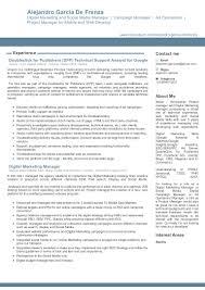 social media manager resume sample campaign manager resume free resume example and writing download