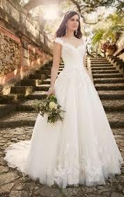 australia wedding dress lace wedding dress with cap sleeves from essense of australia