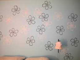 sponge painting ideas home styles wall paint stencils pictures