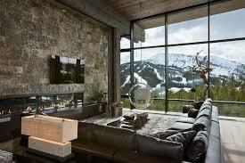 canapé style chalet déco chalet de montagne atmosphère chaleureuse et unique