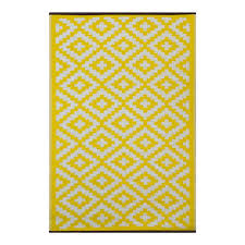 Yellow And White Outdoor Rug Nirvana Yellow And White Outdoor Rugs On Sale Fast Delivery