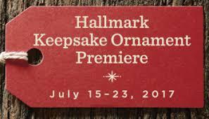 hallmark keepsake ornament debut october 7 15 2017 hallmark