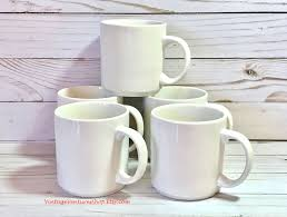 set of 5 iga mugs at vintageventuresshop etsy to buy click image