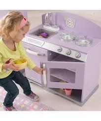 kidkraft lavender stove u0026 refrigerator retro kitchen set zulily