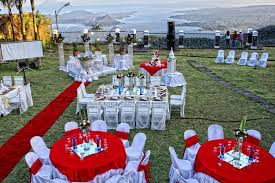 cheap wedding ceremony and reception venues tagaytay wedding venues top 10 wedding destinations food