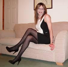 crossdresser stockings high heels bluestocking blue emma ballantyne speaks