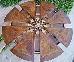 expanding circular dining table expanding round table expanding round table dining and round