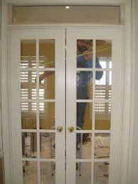 Interior French Doors With Transom - yours in 361 home office renovation