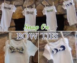 bow tie themed baby shower onesie bow tie pattern