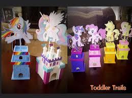 my pony centerpieces my pony friendship is magic wedding toddler trails