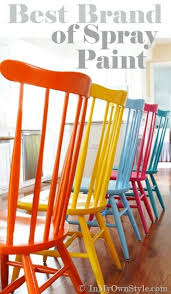 what is the best way to paint wood kitchen cabinets furniture makeover spray painting wood chairs in my own style