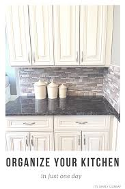 how to organize your kitchen cabinets organize your kitchen in one day it u0027s simply lindsay