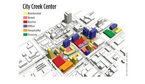 International Mall Map Dividing Blocks And Adding Vitality To Salt Lake City Urban Land