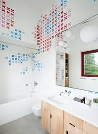 one home three bathrooms each with an awesome way to use tile
