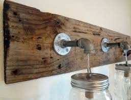 rustic bathroom light fixtures design ideas information about