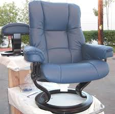 Blue Leather Chair Stressless Royal Chair Paloma Oxford Blue Reclinerleather By