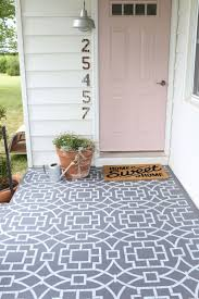 Porch Floor Paint Ideas by Best 25 Painted Concrete Porch Ideas On Pinterest Outdoor