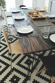 diy kitchen table on a budget the home depot blog