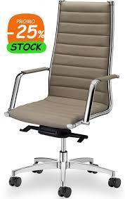 fauteuil de bureau haut de gamme fauteuil direction cuir luxe au design séduisant en promo