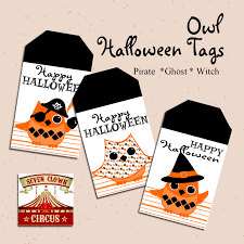 Happy Halloween Printable by Halloween Printable Tags Free Owl Printables