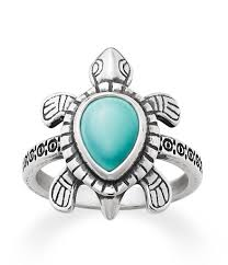 avery mothers ring avery turquoise turtle ring dillards