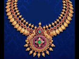 red stone gold necklace images Antique necklace with red polki stone jewels jpg