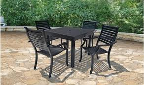 Aluminum Patio Dining Set Affinity Aluminum Patio Dining Set Treetop Products