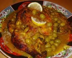 cuisine marocaine poulet aux olives à découvrir