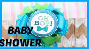 corsage de baby shower corsage de baby shower como hacer how to distintivos paso