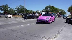 pink porsche panamera black beach weekend 2k17 miami pink porsche panamera on forgi u0027s