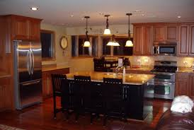 kitchen islands with tables attached stools stunning kitchen island table ideas with hanging lamps
