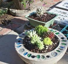 Flower Pot Arrangements For The Patio 22 Diy Concrete Projects And Creative Ideas For Your Garden