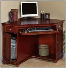 Wood Corner Desks For Home Small Corner Desk With Drawers Freedom To
