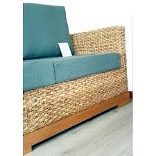 canapé tressé canapé d angle tissu bio déhoussable tressé fibres naturelles