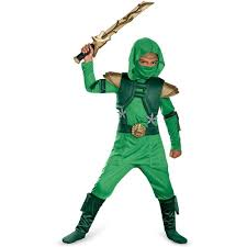 amazon halloween amazon com disguise shadow ninja green master ninja deluxe boys