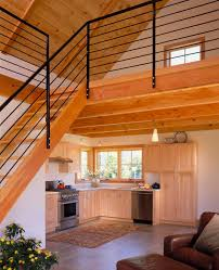 simple house plans with loft the basec a tiny house that embraces mountaineers lifestyle