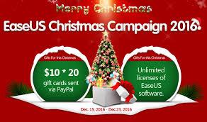 big christmas giveaway of easeus