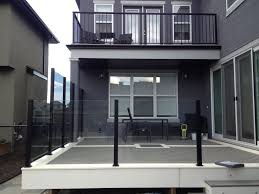 balcony glass deck railing systems u2014 railing stairs and kitchen