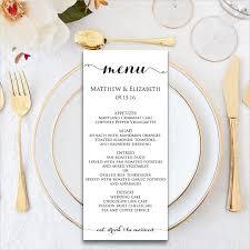 dining menu template formal dinner menu template expin franklinfire co